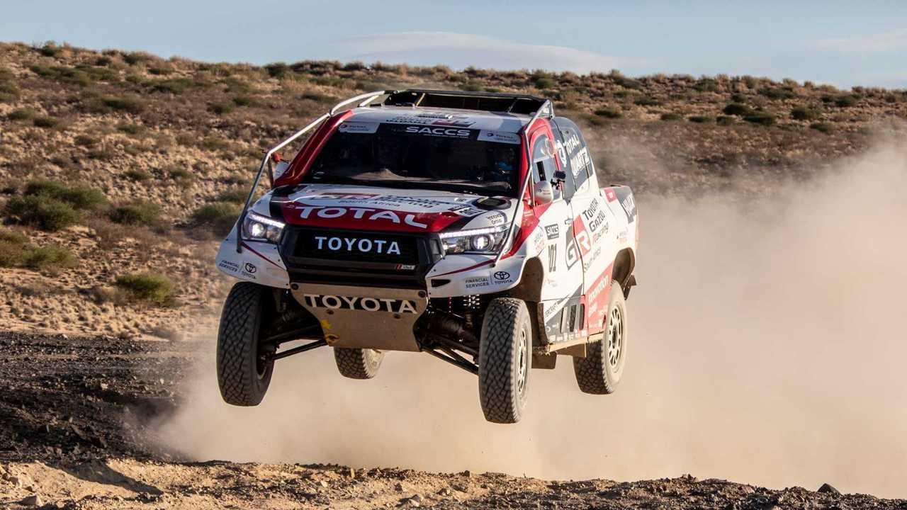 Fernando Alonso, Dakar-teszt, Toyota Hilux
