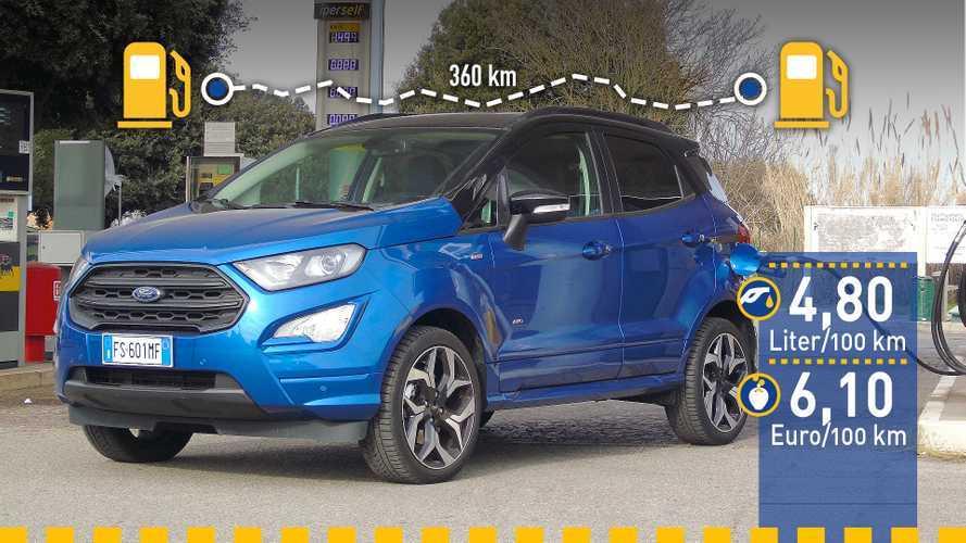 Tatsächlicher Verbrauch: Ford EcoSport 1.5 Ecoblue im Test