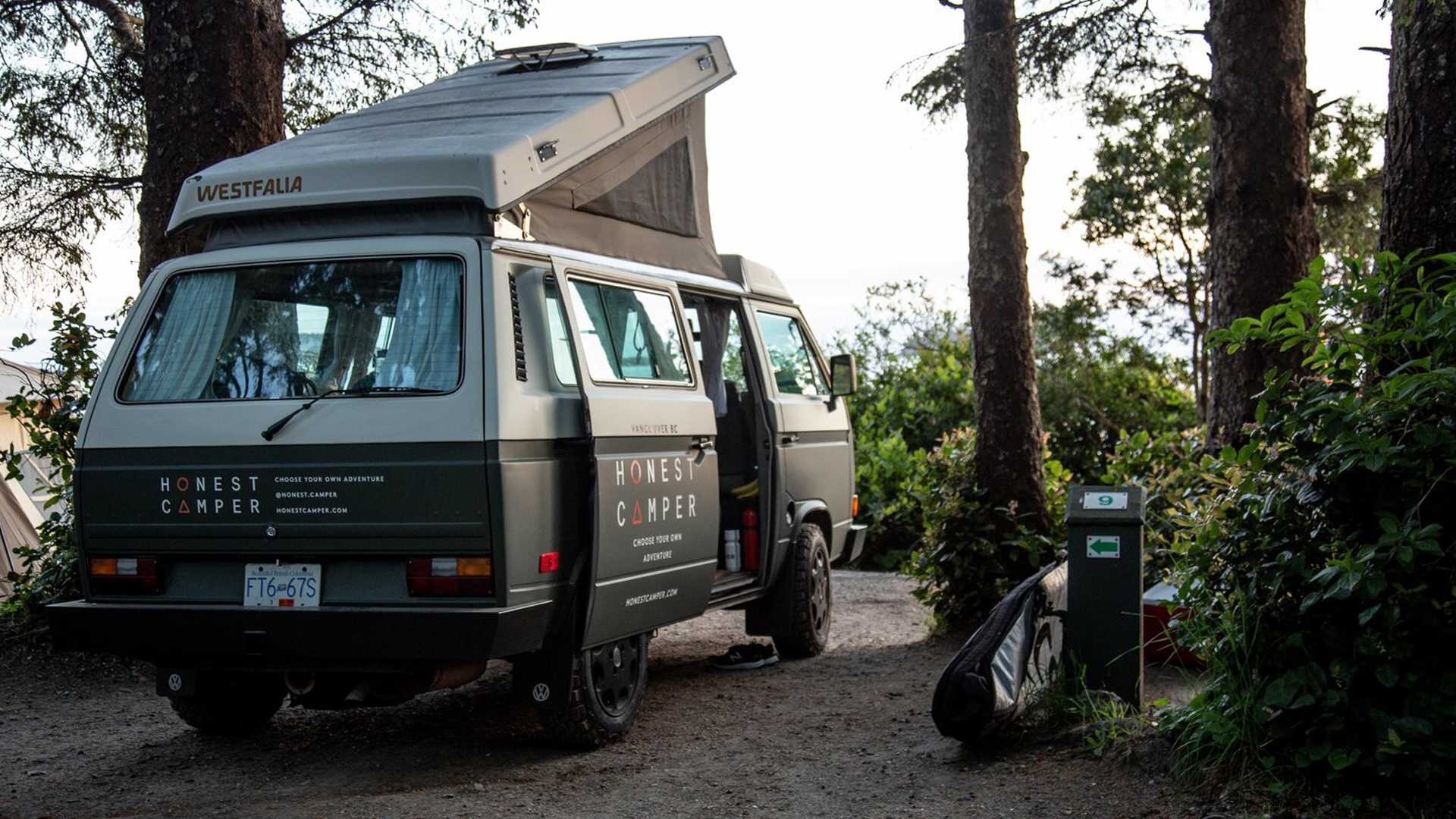 Enjoy Instant Vanlife With Retro Vw Westfalia Camper Rental