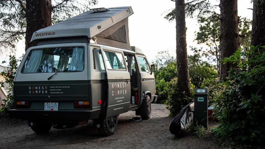 Enjoy Instant #Vanlife With Retro VW Westfalia Camper Rental