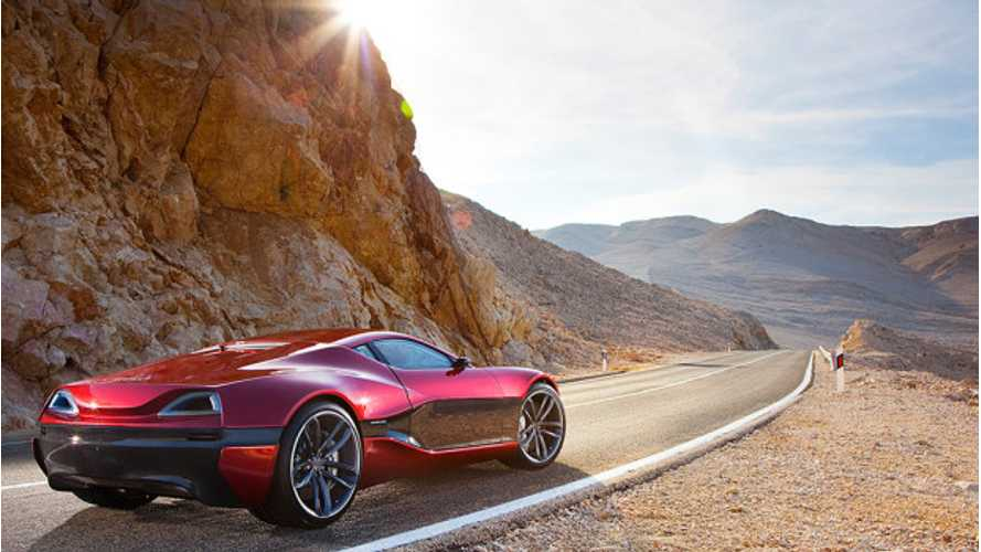 Rimac Automobili Secures Two Key Investors