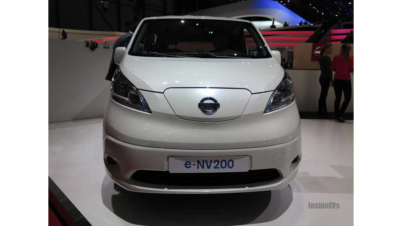 Nissan e-NV200 - Live Images From World Debut at Geneva Motor Show