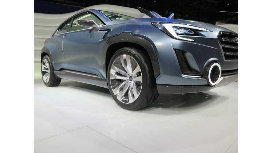 Plug-In Hybrid Subaru Viziv 2 Concept Debuts in Geneva (w/video)