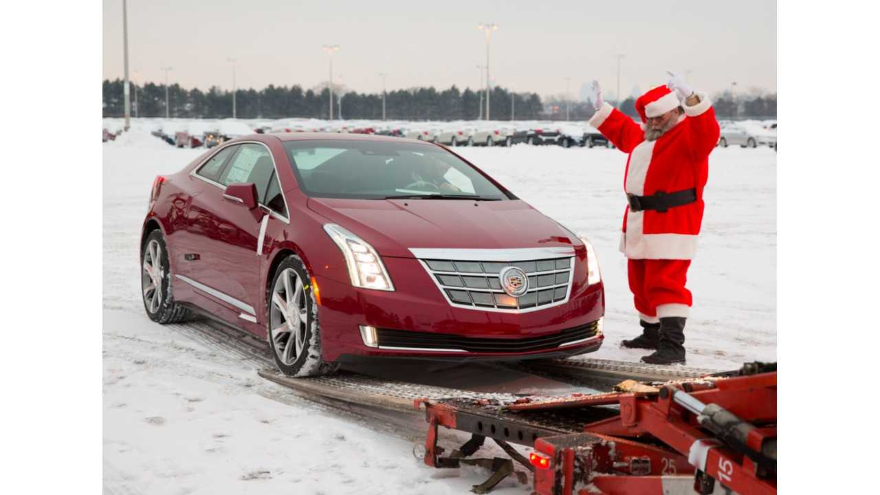 Originally Scheduled To Go On Sale In January, The Cadillac ELR Got To Market A Little Early