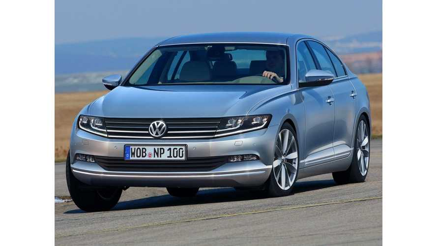 Volkswagen Passat Plug-In Hybrid to Debut in 2015