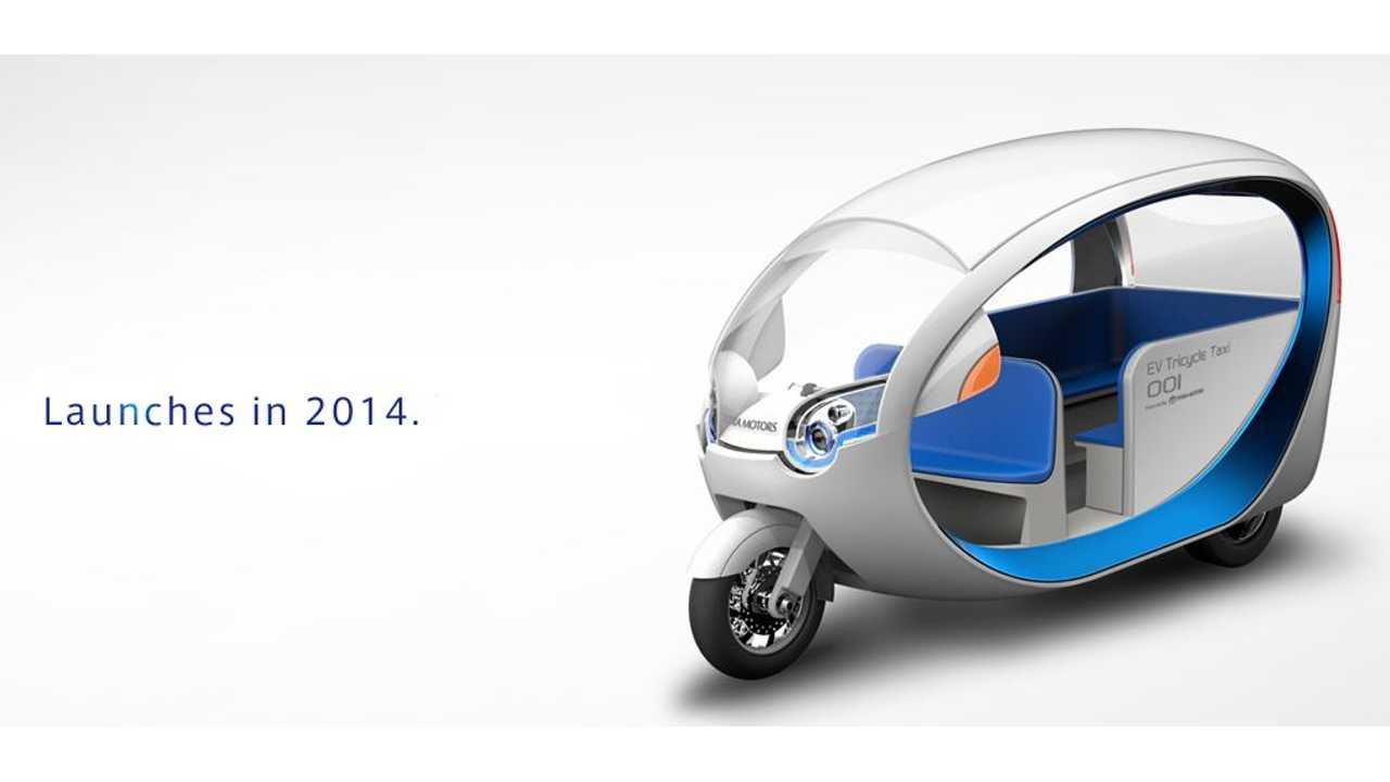 Terra Motors E Trike Headed to Philippines This Year