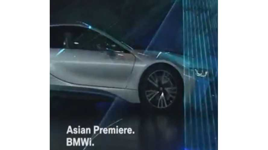 BMW i8 And BMW i3 Make Chinese Debut At Beijing Auto Show - Video