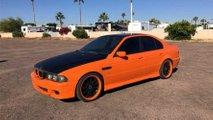 Hızlı ve Öfkeli 4'teki Turuncu Siyah BMW 5 Serisi E39