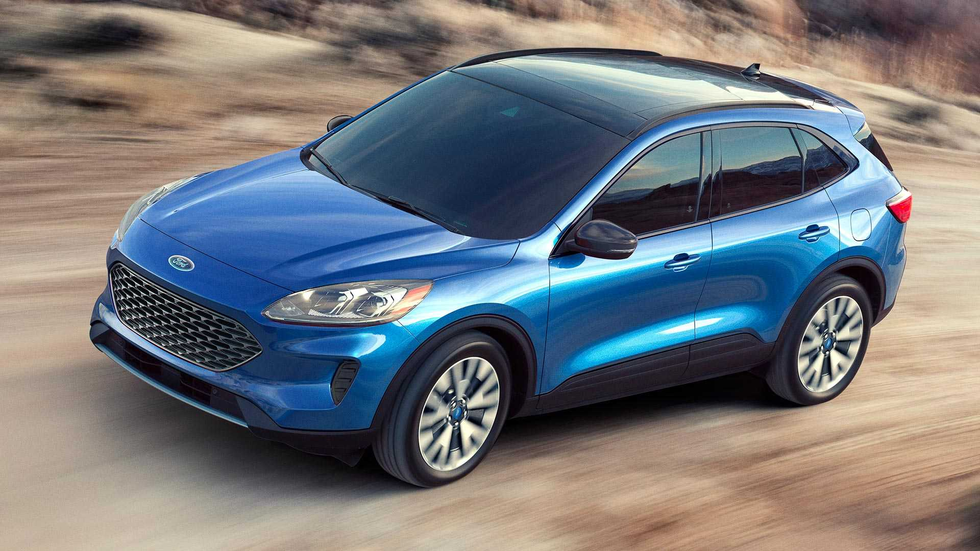 2020 Ford Kuga Plug-In Hybrid Is Coming Next Spring >> 2020 Ford Escape Debuts With Whole New Look Two Hybrid Choices