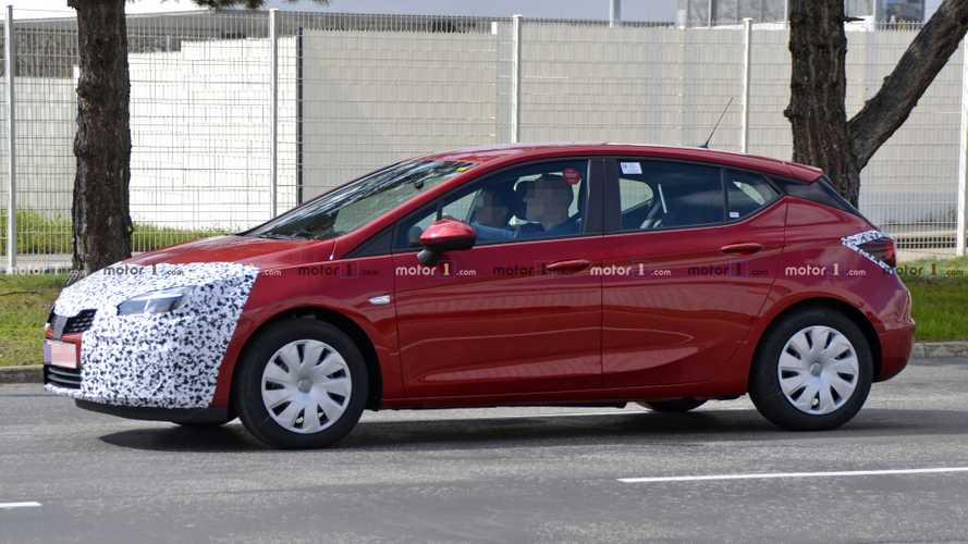 Vauxhall Astra facelift sheds some camo in new spy photos