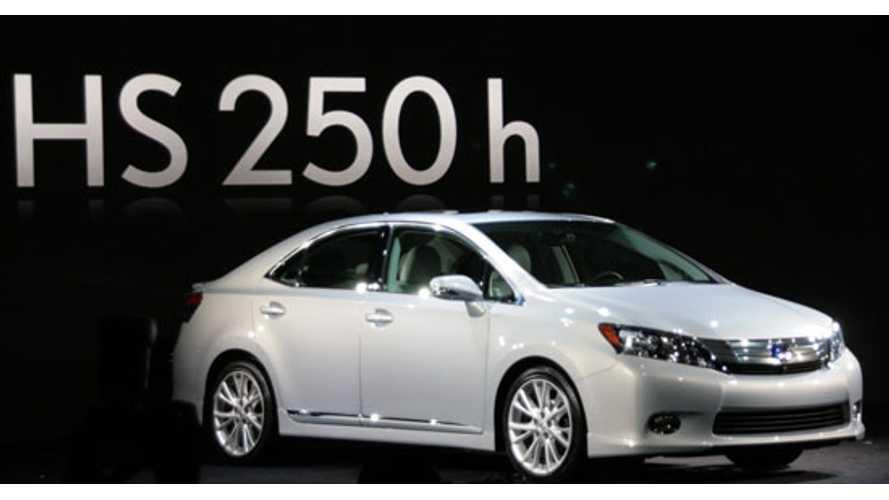 Toyota Kills Off the Lexus HS 250h Hybrid