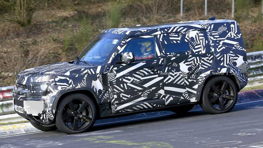New Land Rover Defender doesn't feel at home testing at the 'Ring