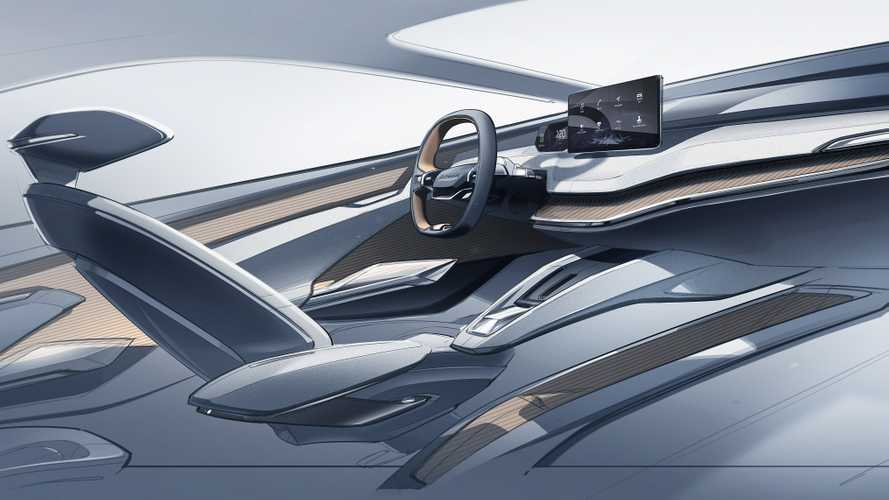 Skoda Vision iV Interior Sketch Shows The Wave Of The Future