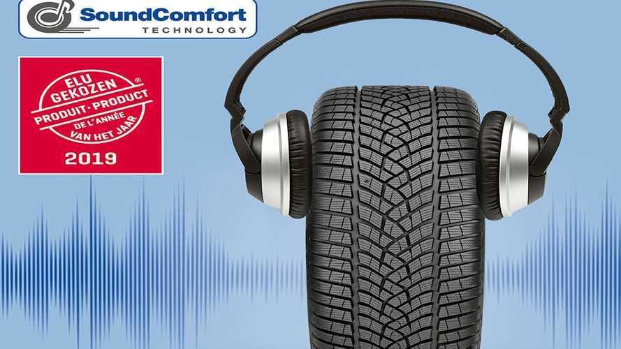Goodyear'ın SoundComfort teknolojisi, yılın ürünü seçildi