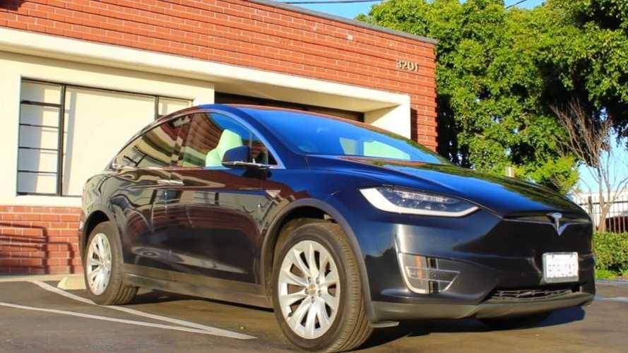 This Tesla Model X 90D Covered 350,000 Miles On Original Battery