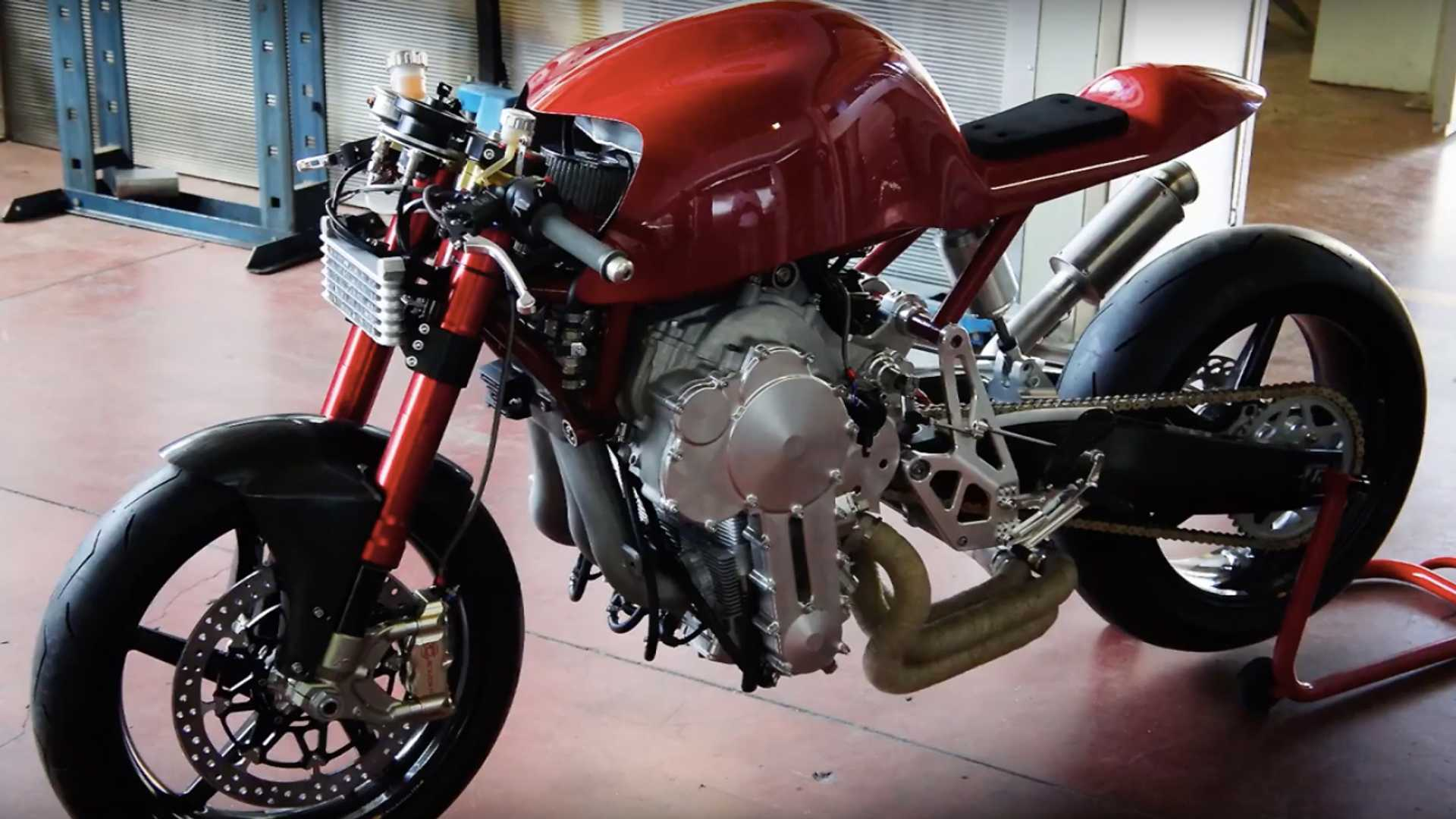 The Bike With The Upside Down Engine Ready For Production