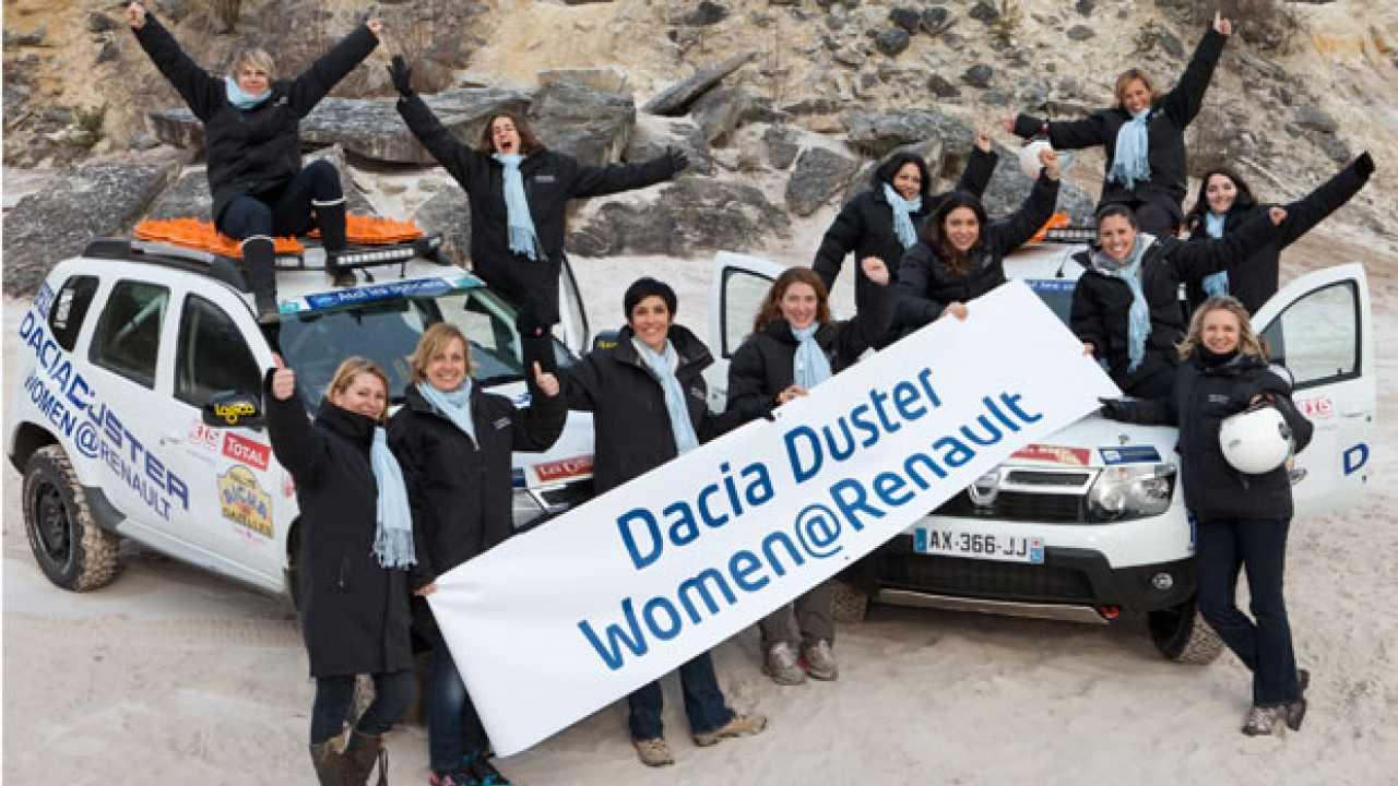 12 donne per 6 Duster