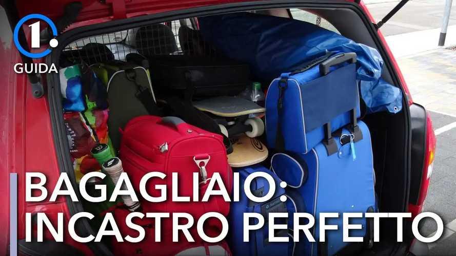 Come caricare il bagagliaio dell'auto per le vacanze