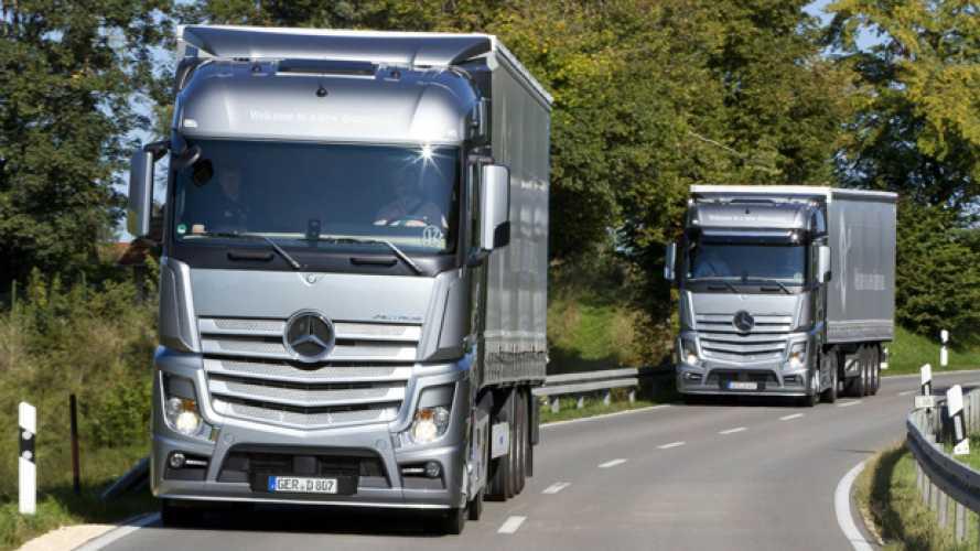 Mercedes Actros 1842 Streamspace è Green Truck 2015