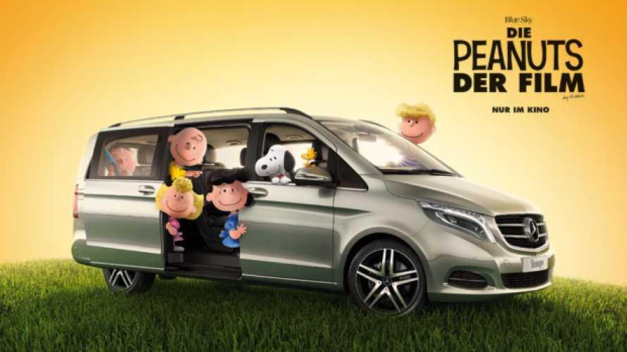 Mercedes, un V-Class per i Peanuts