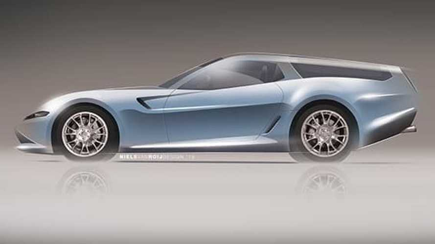 Ferrari Daytona Shooting Brake Hommage teased from new angles