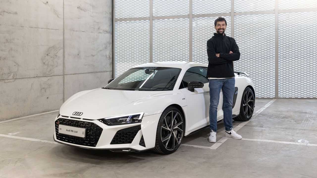 Audi de la plantilla del Real Madrid de Baloncesto