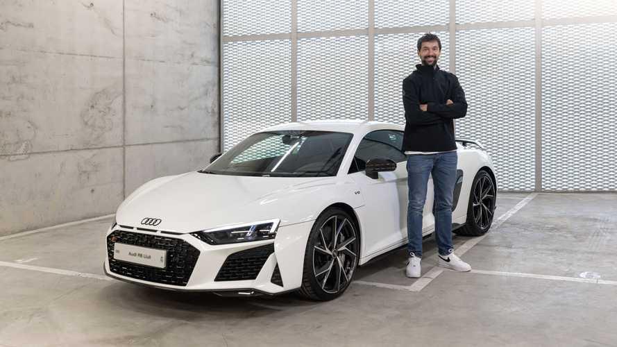 Les joueurs de basket du Real Madrid reçoivent leur Audi
