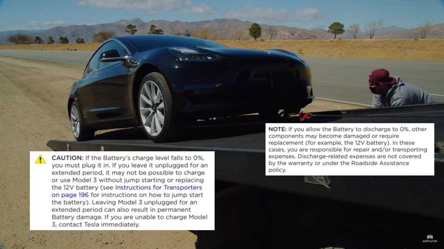 Tesla Wants To Count Buffering As Range, But Says You Shouldn't Use It