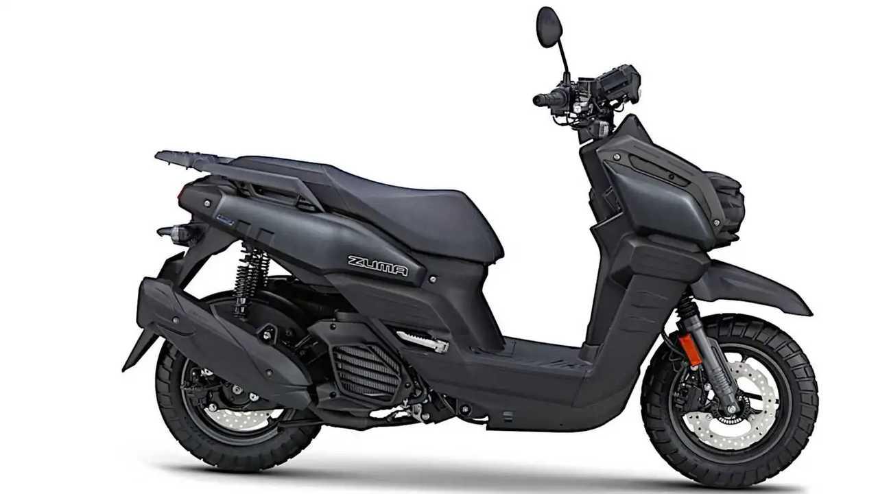 2022 Yamaha Zuma 125 - Black - Right Side