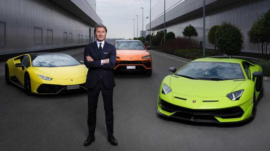 Lamborghini anuncia plano de eletrificação e supercarro elétrico