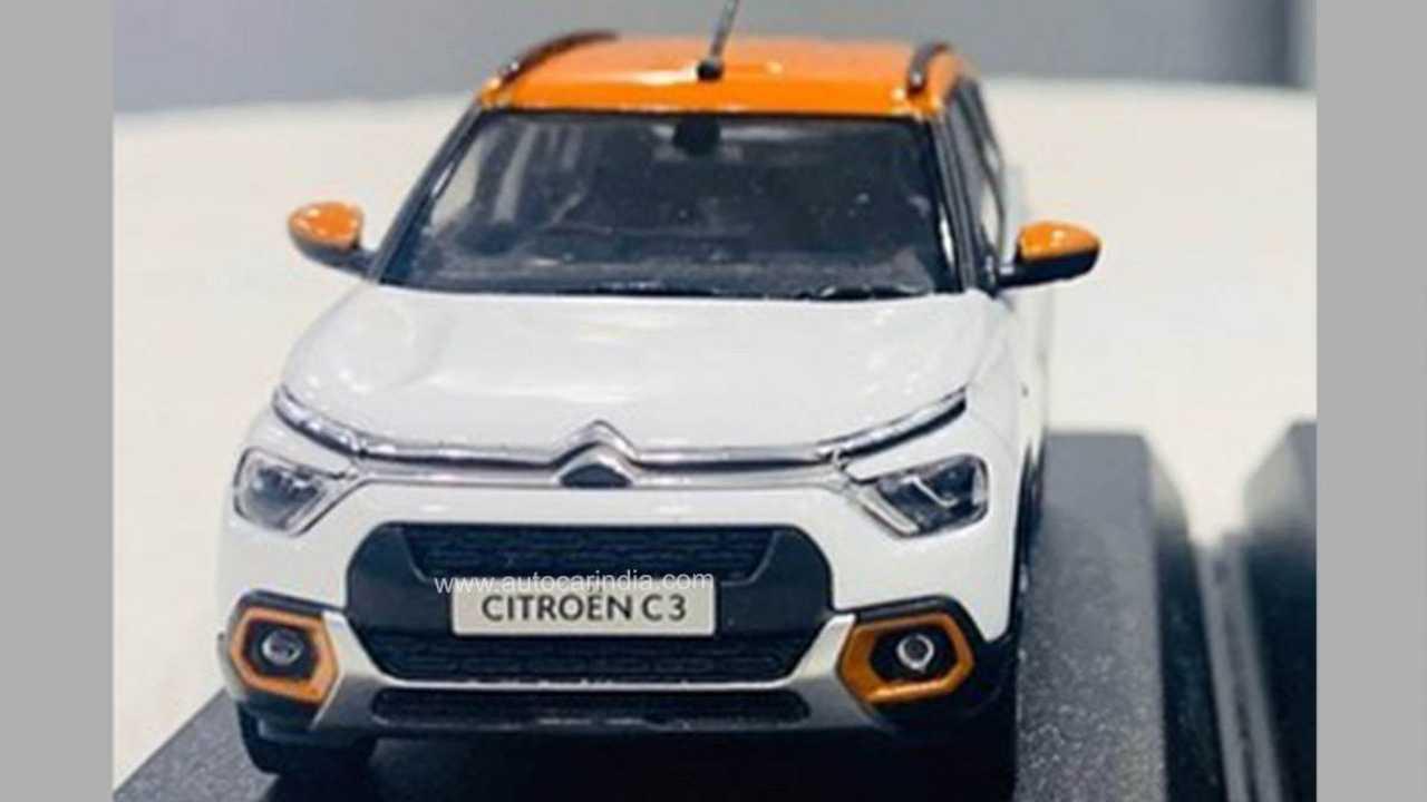 Novo Citroën C3 - Miniatura