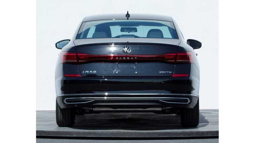 2022 Volkswagen Passat facelift (CN)