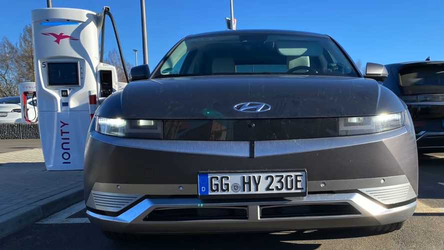 Hyundai Ioniq 5 Spotted Charging At 149 kW At 80% SOC