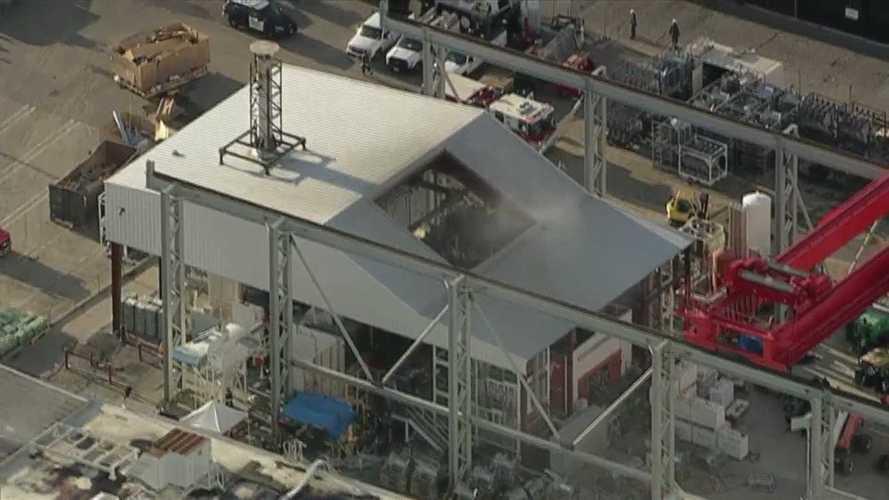 Tűz volt a Tesla első számú gyárában, sérültek nincsenek
