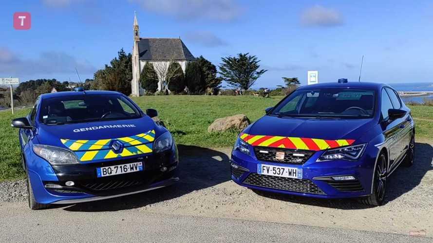Vidéo - Les gendarmes découvrent leur Seat Leon Cupra
