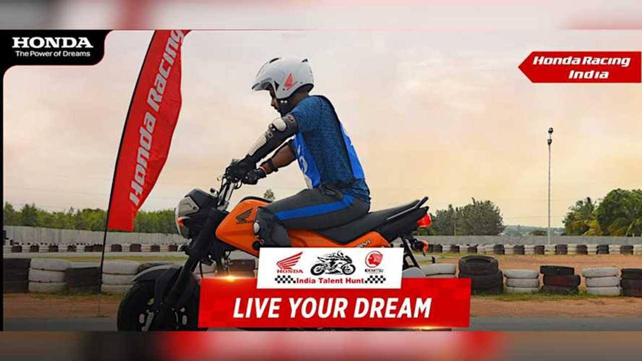 Honda Racing India Talent Hunt 2021