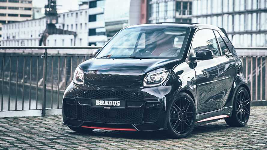 Only 50 Of These Brabus 92R Performance Electric Smart Cars Will Be Built