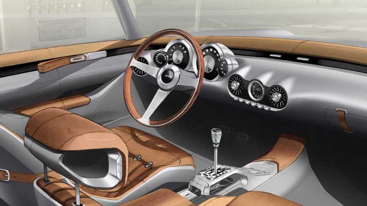 GTO Engineering Squalo Interior Sketch Dashboard