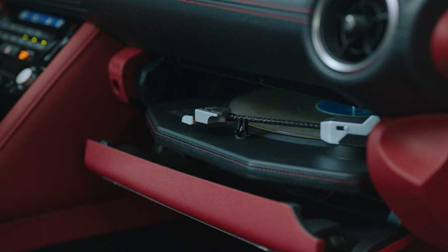 Lexus IS Wax Edition Is A One-Off That Can Play Vinyl Records
