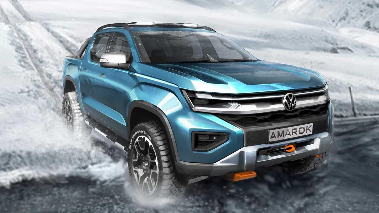 Yeni nesil Volkswagen Amarok ipucu görüntüsü