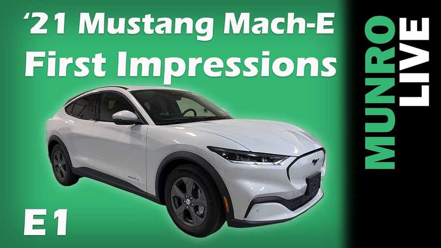 Sandy Munro Checks Out Ford Mustang Mach-E: First Impressions