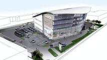 World's Largest Audi Center Illustration