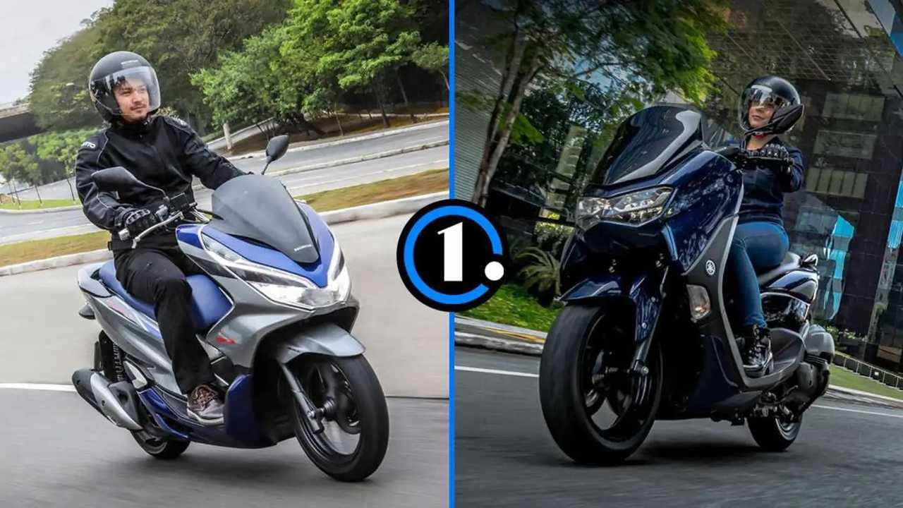 Honda PCX x Yamaha NMax