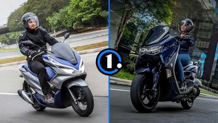 Honda PCX ou Yamaha NMax: o que cada scooter entrega?