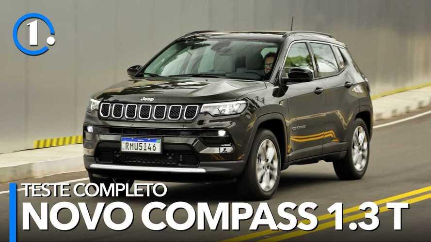 Teste: Jeep Compass Longitude 1.3T 2022, pronto para a briga