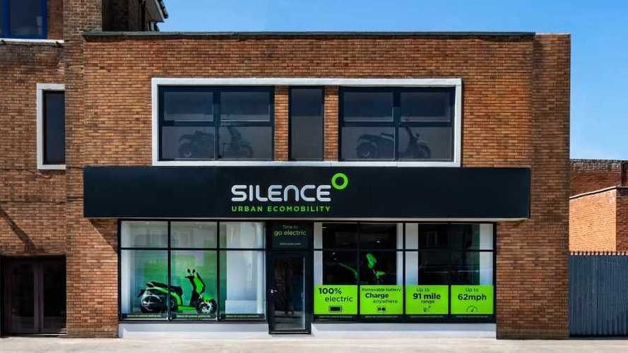 Electric scooter brand Silence opens flagship UK store