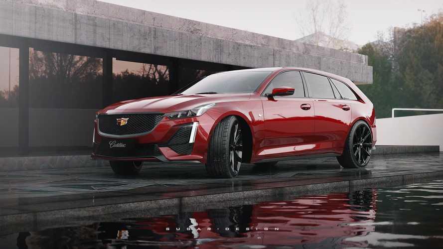 Rendering Cadillac CT5 Sport Wagon Sebuah Ide Menarik