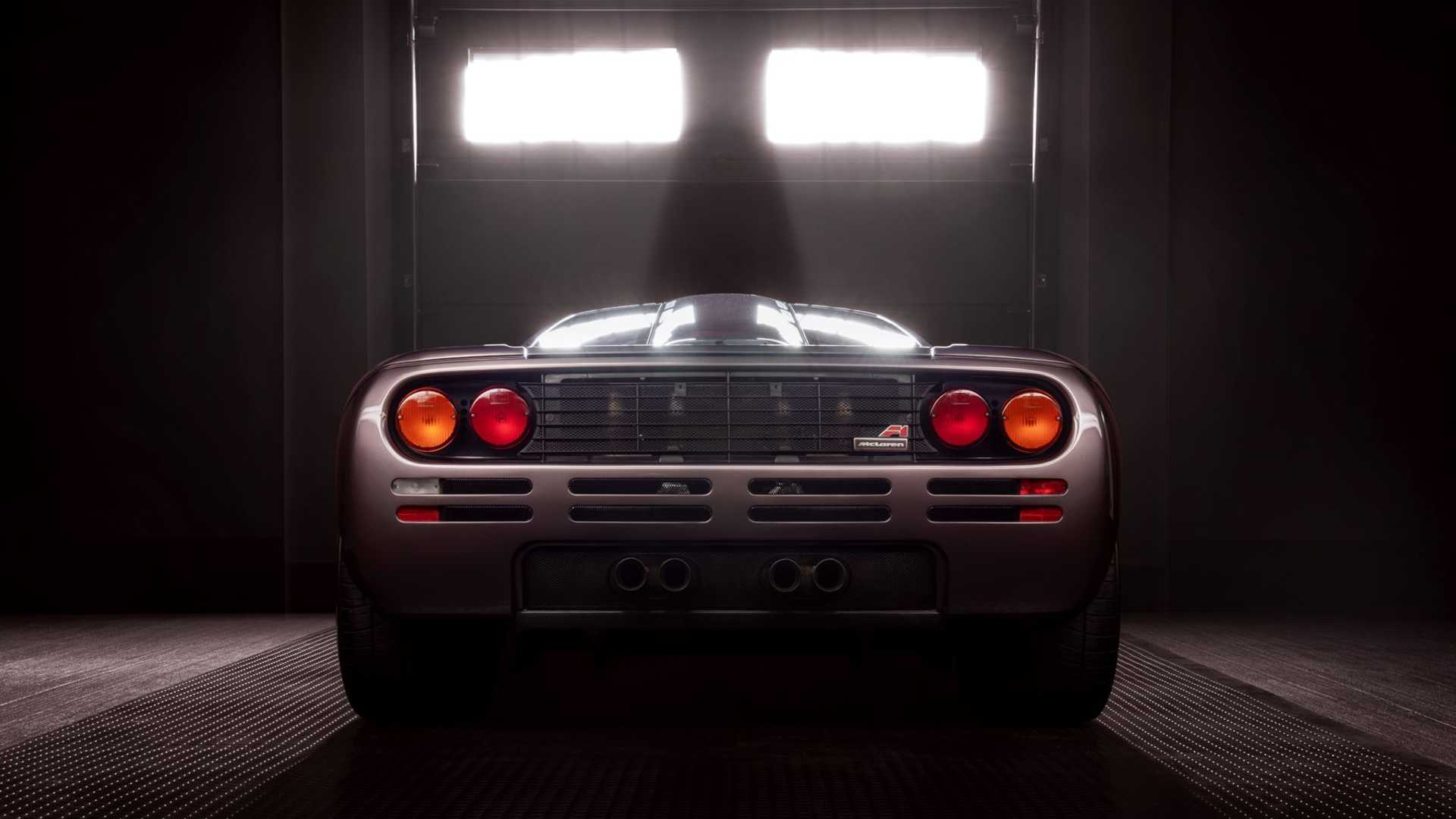 1995 McLaren F1 Gooding And Company Auction 2020 Rear