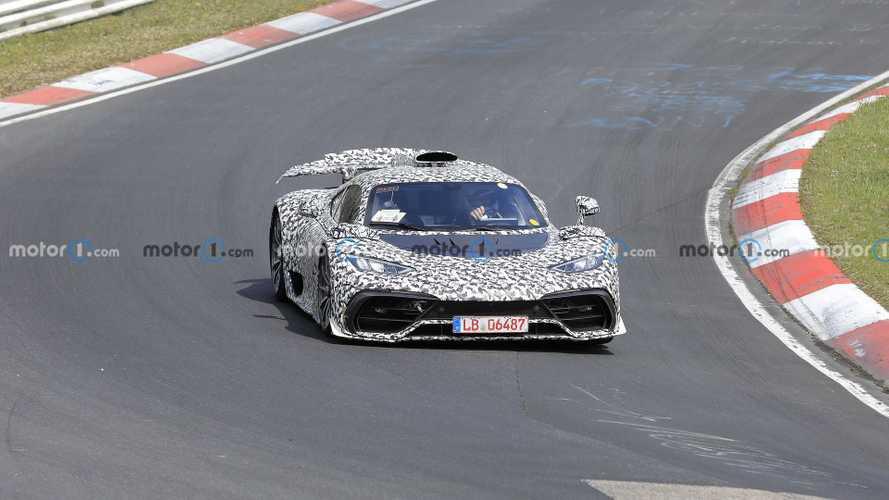 Vidéo - La Mercedes-AMG One à fond sur la Nordschleife