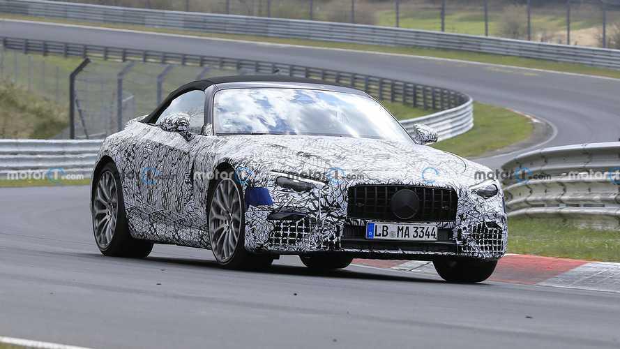 Nouvelle apparition de la Mercedes SL sur la Nordschleife